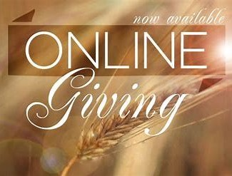 Open the online giving form