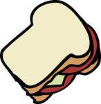sandwich clipart canstock1127651
