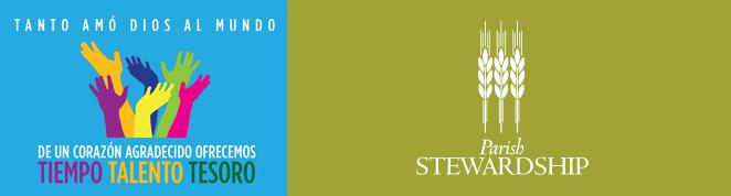 2021Parish Stewardship Banner Spanish biLingual